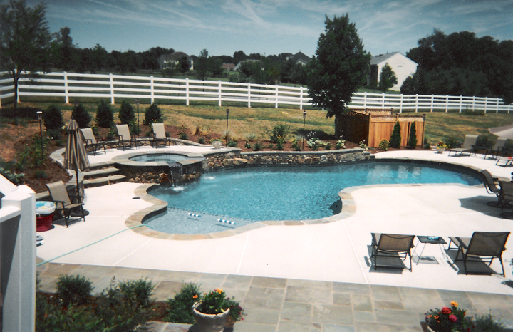 Custom pool design gallery swimming pool designs in for Pool design help