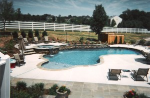 pool installation,