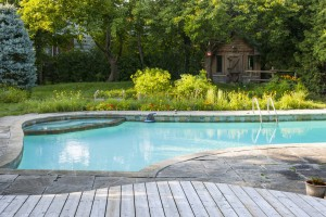 Outdoor pool design trends