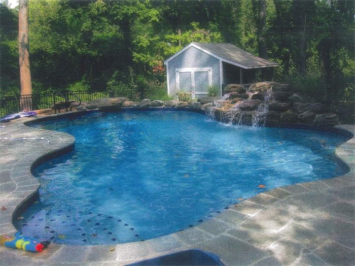Custom pool design gallery swimming pool designs in for Pool design maryland