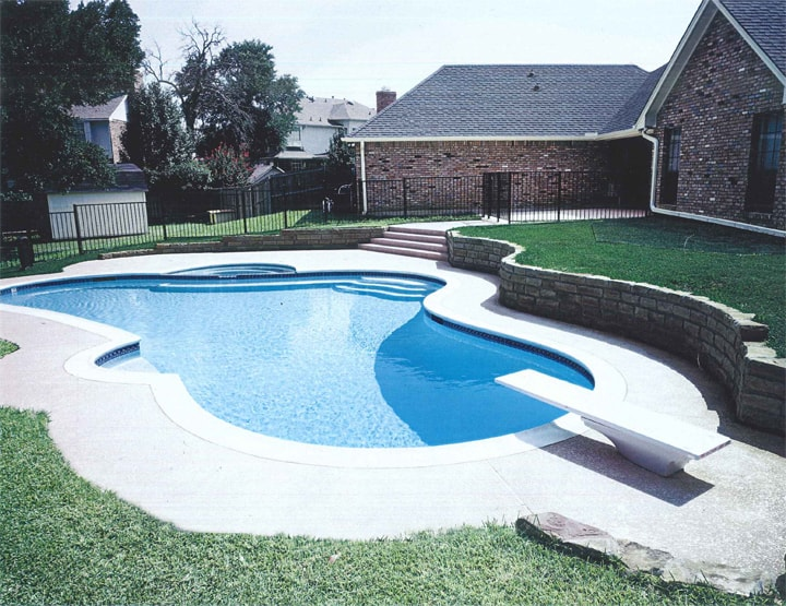 The different types of design choices for your new pool for Pool design types
