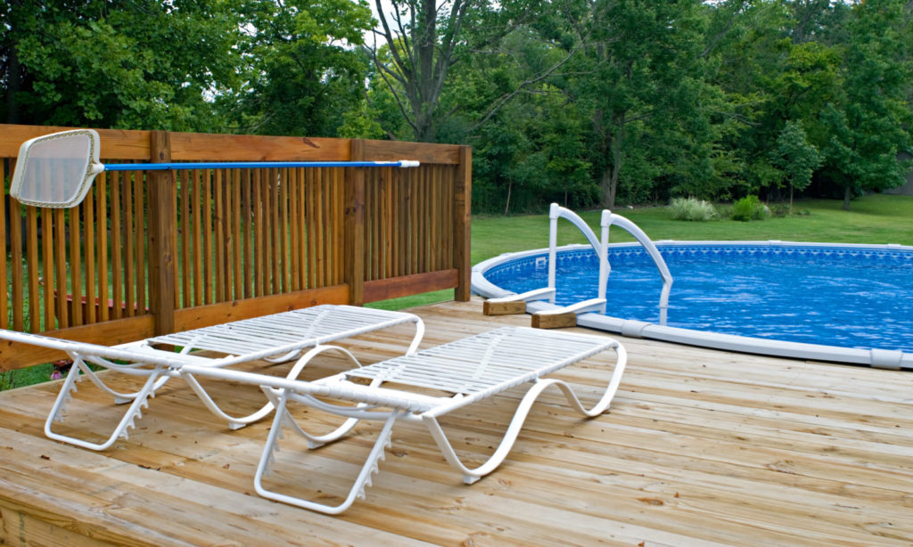 small pool sunrise pools backyard