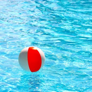 Red White Beach Ball